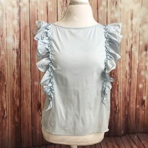Bebe blouse with ruffles